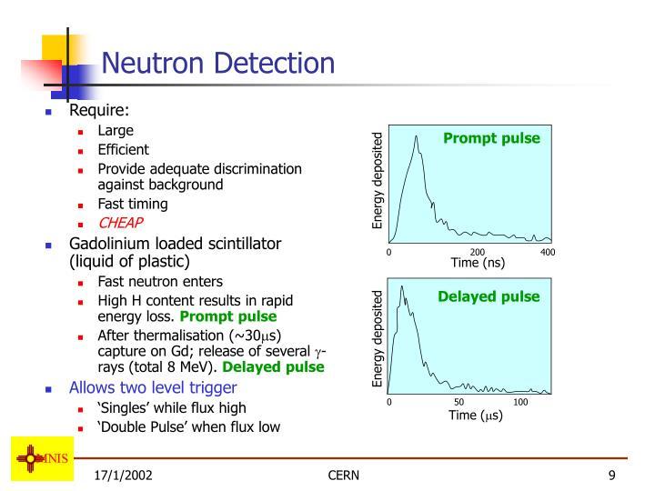 Neutron Detection