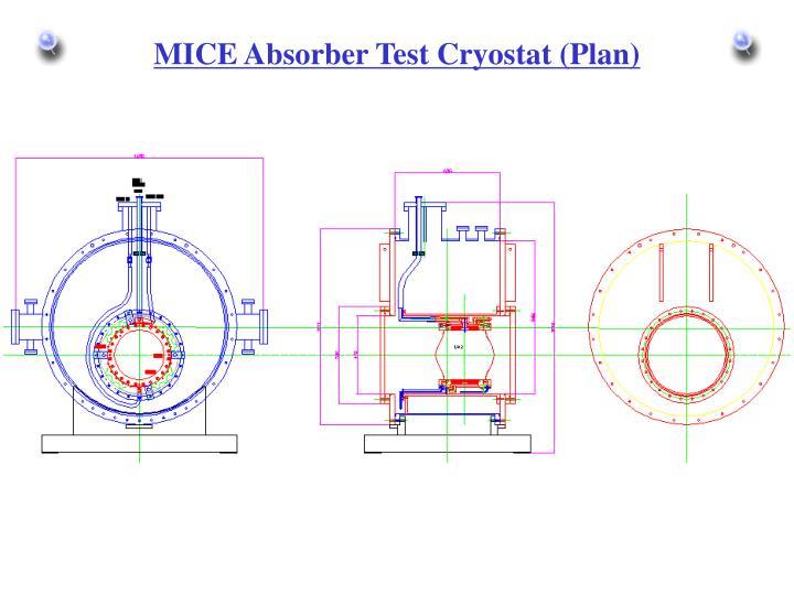 MICE Absorber Test Cryostat (Plan)