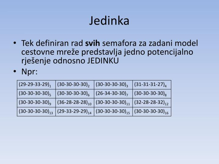 Jedinka