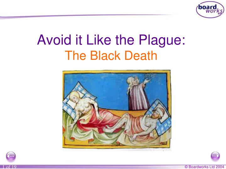 effects of the black death essay This free history essay on essay: benefits to a catastrophe: the black death is perfect for history students to use as an example.