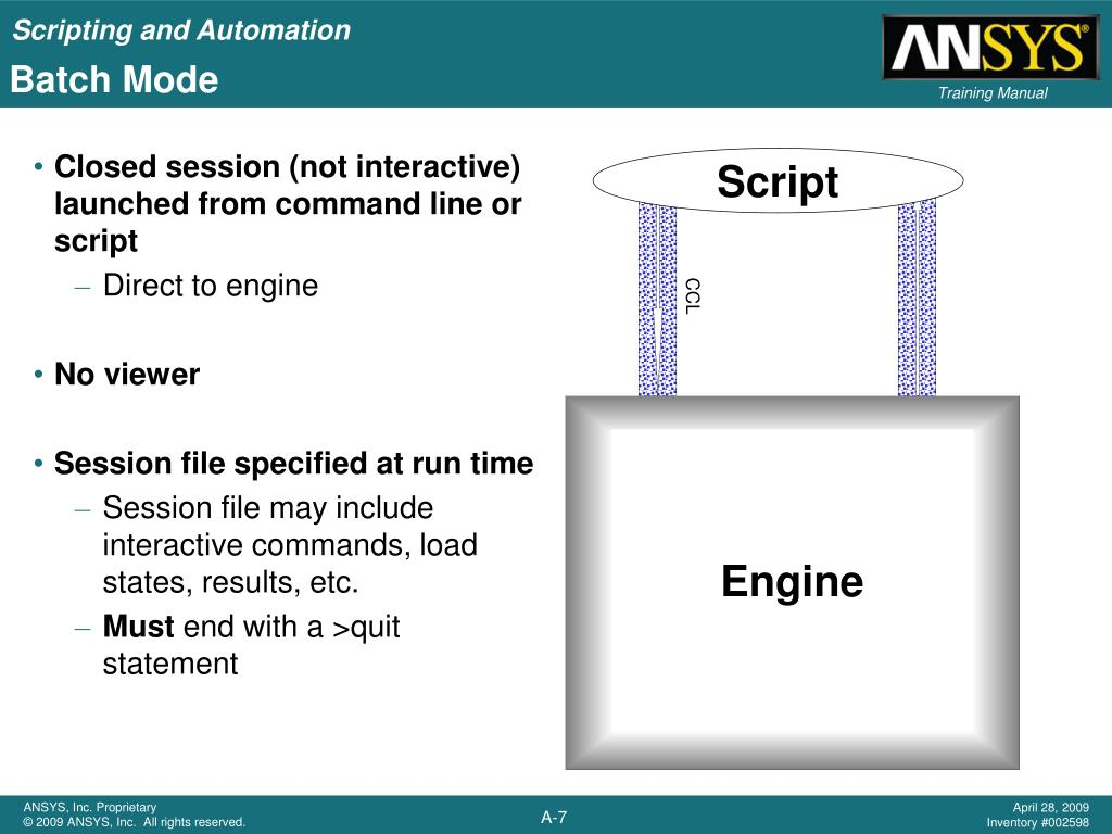PPT - Appendix A Scripting and Automation PowerPoint Presentation