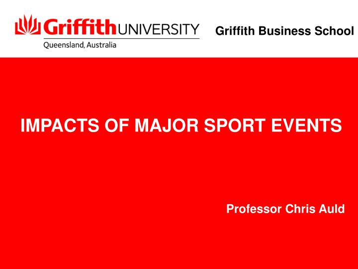 impacts of major sport events n.