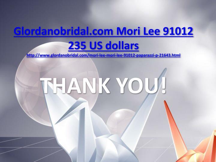 Glordanobridal.com Mori Lee 91012 235 US dollars