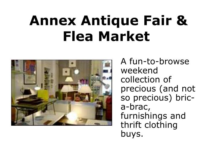 Annex Antique Fair & Flea Market