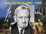 john steinbeck 1902 1968