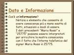 dato e informazione1