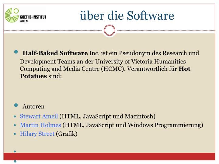 Ber die software1
