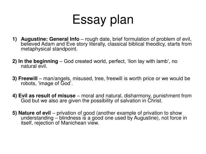 augustine theodicy essay