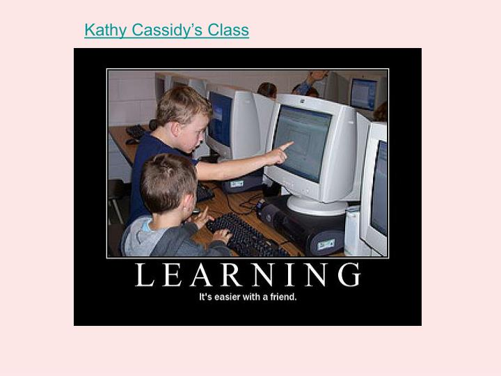 Kathy Cassidy's Class