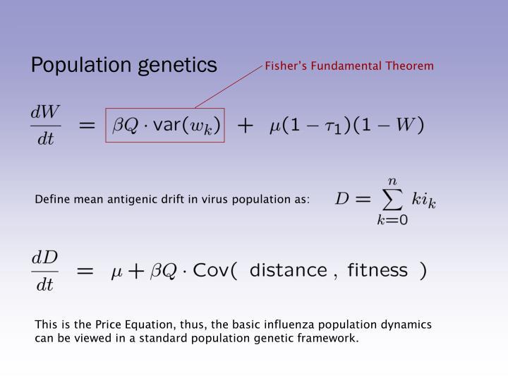 Fisher's Fundamental Theorem