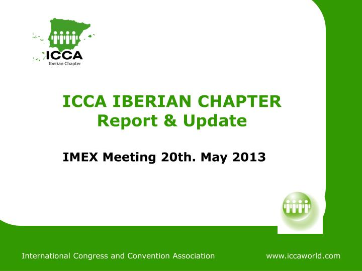 Icca iberian chapter report update