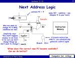 next address logic