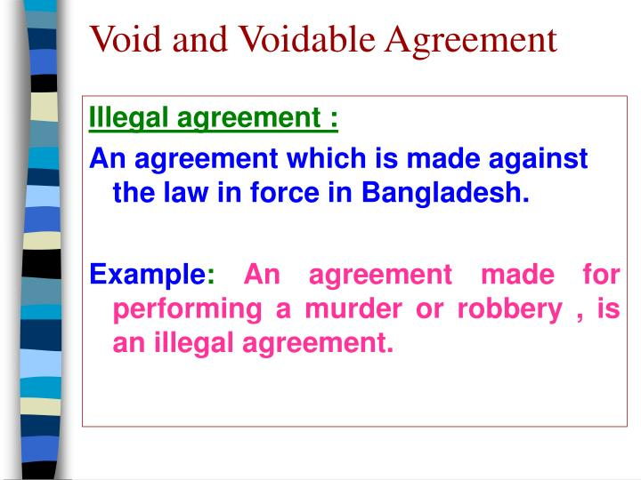Ppt Void And Voidable Agreement Powerpoint Presentation Id3888170