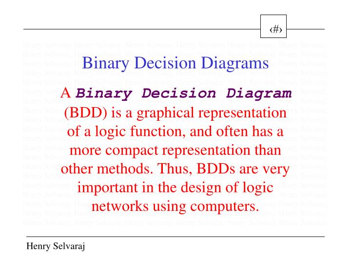 Ppt Binary Decision Diagrams Powerpoint Presentation Id3888397