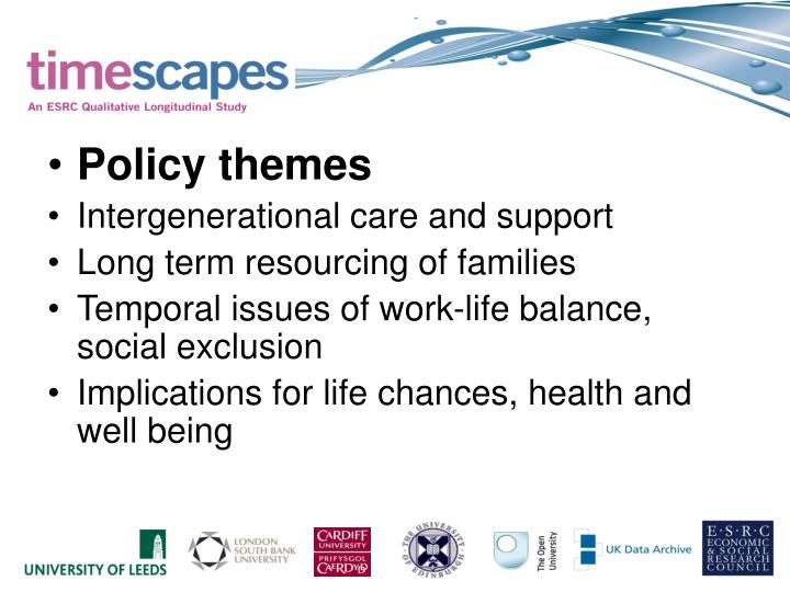 Policy themes