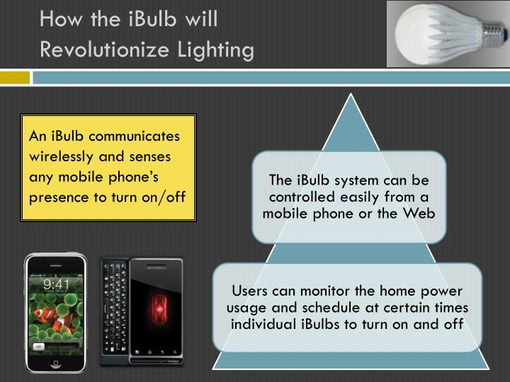 How the iBulb will