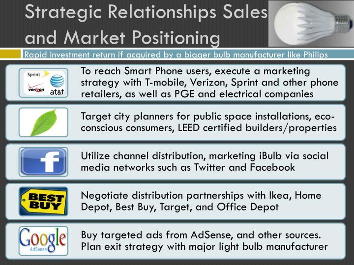 Strategic Relationships Sales