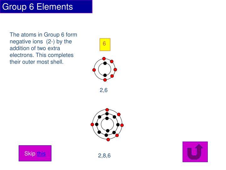 Group 6 Elements