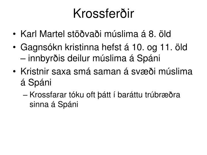 Krossferðir