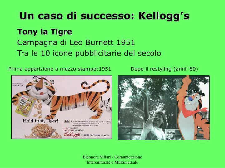 Un caso di successo: Kellogg's