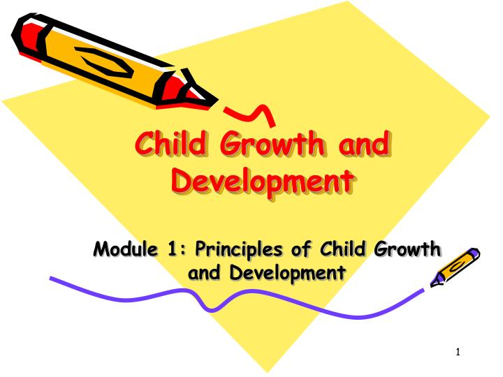 child growth and development n.