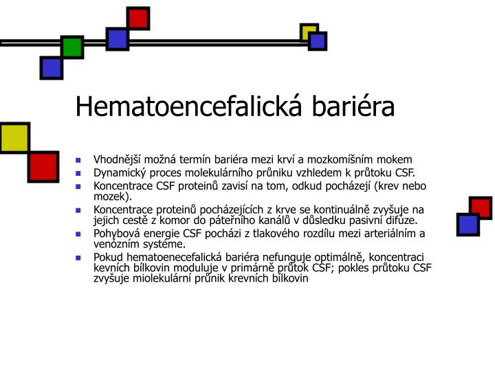 Hematoencefalická bariéra