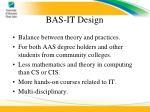 bas it design