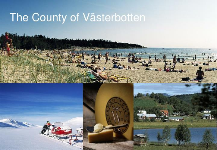 The County of Västerbotten