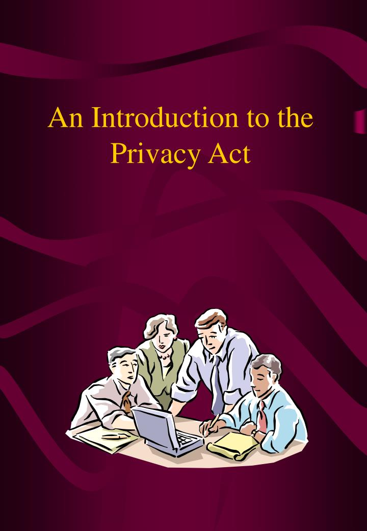 an introduction to the privacy act n.