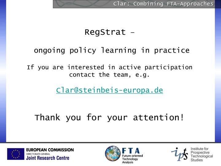 Clar: Combining FTA-Approaches