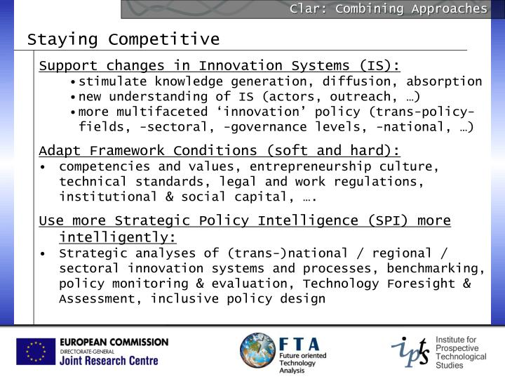 Clar: Combining Approaches