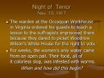 night of terror nov 15 1917