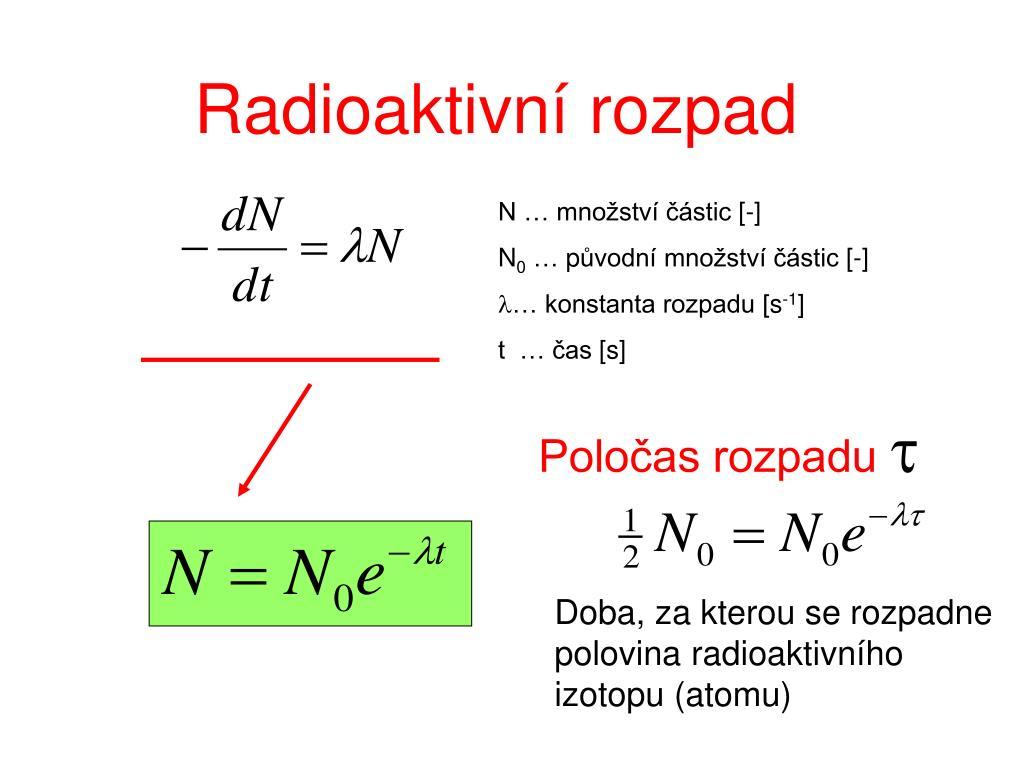 radiační expozice datování