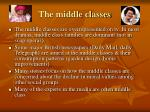 the middle classes
