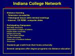 indiana college network