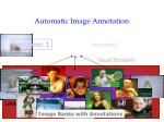 automatic image annotation