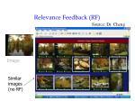 relevance feedback rf