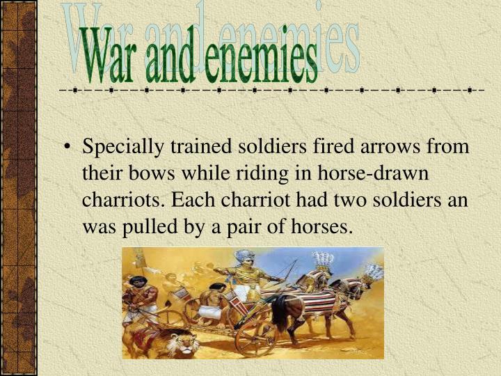 War and enemies