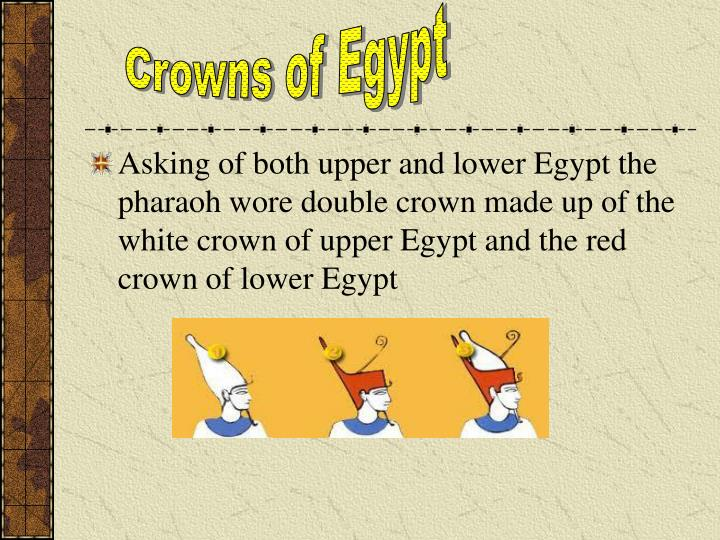 Crowns of Egypt