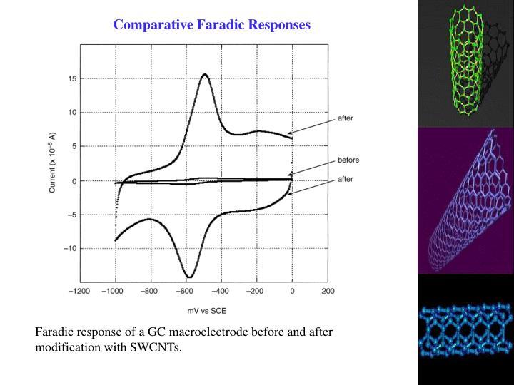 Comparative Faradic Responses