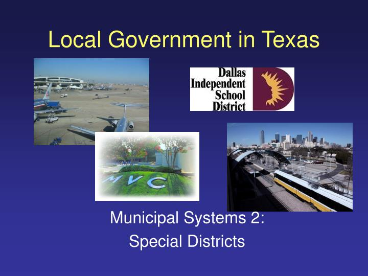local government in texas n.