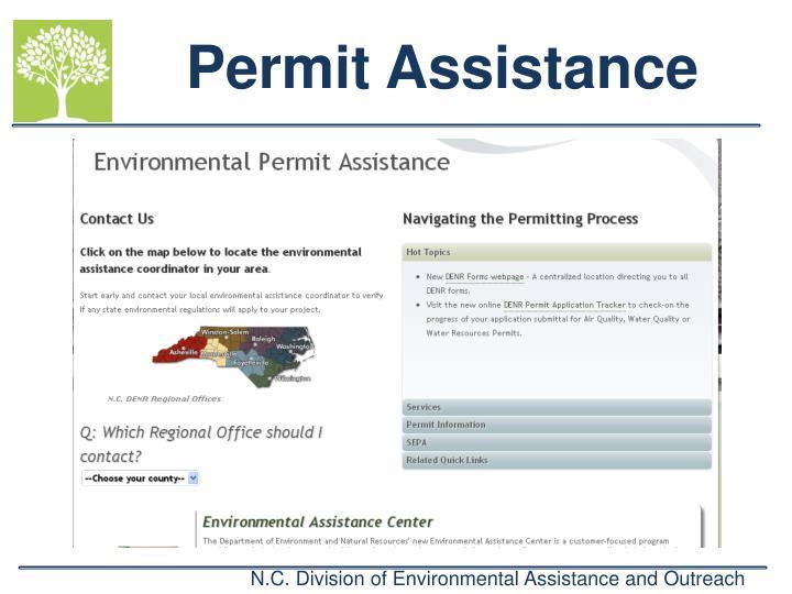 Permit Assistance