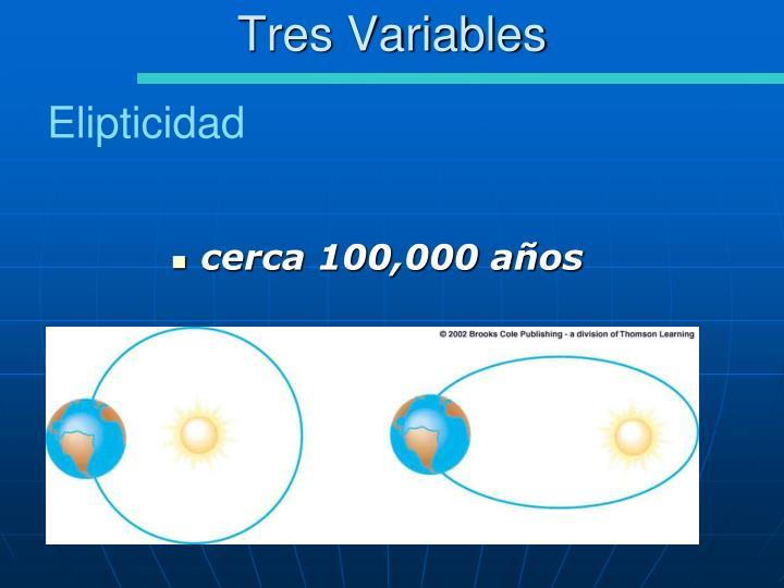 Tres Variables