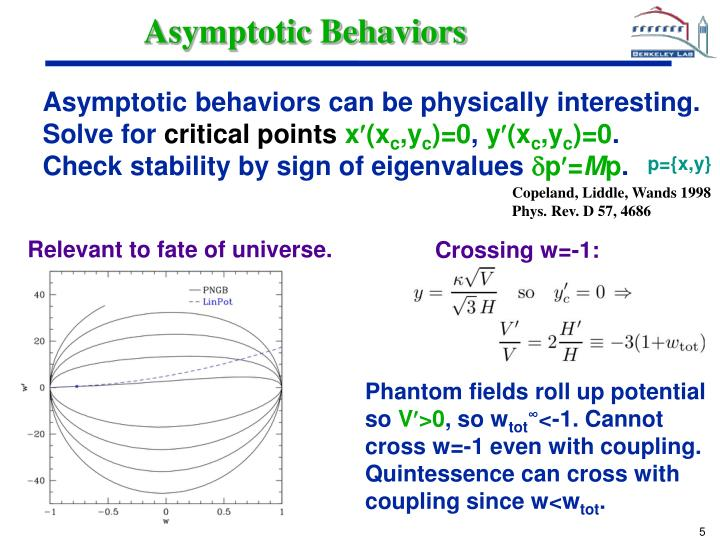 Asymptotic Behaviors
