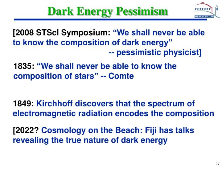 Dark Energy Pessimism