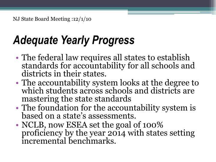 adequate progression Students making adequate progress towards completing the csse program must meet the timely progression benchmarks in addition, students should not have any current evidence of the following.