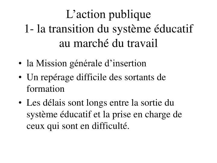 L'action publique