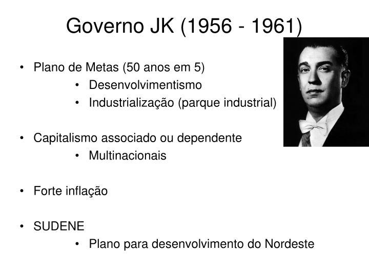 Governo JK (1956 - 1961)