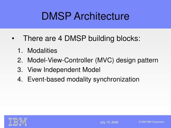 DMSP Architecture
