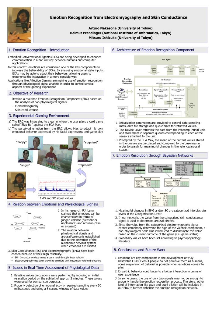 Emotion Recognition from Electromyography and Skin Conductance